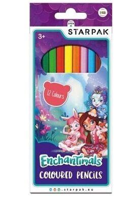 Kredki ołówkowe Enchantimals | Mattel