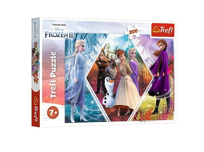 Puzzle 200el Kraina Lodu 2 | Trefl