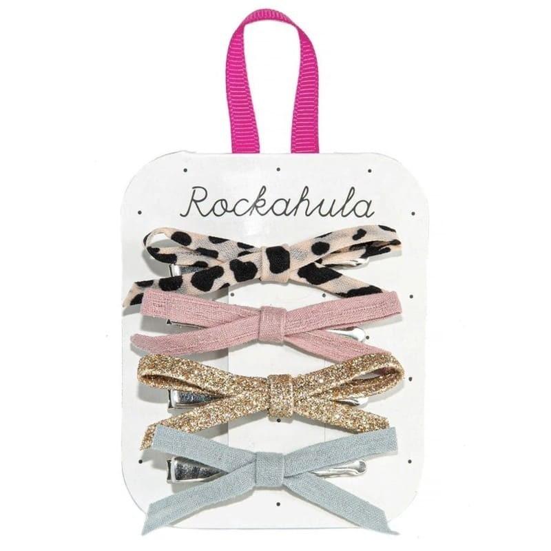 Spinki do włosów 4szt Lili Leopard | Rockahula Kids