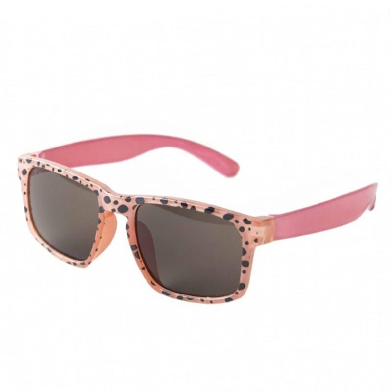 Okulary dziecięce 100% UV Cheetah coral   Rockahula
