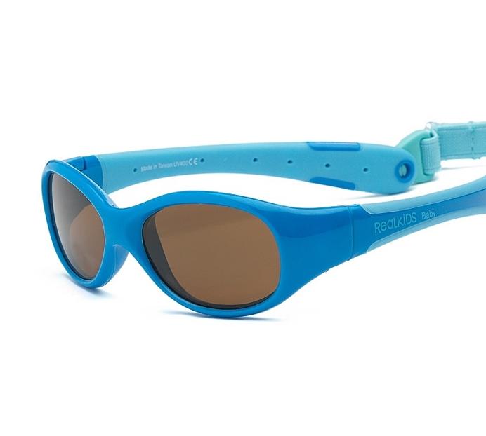 Okulary przeciwsłoneczne Explorer - Blue/ Light Blue 0-1 | Real Shades Kids