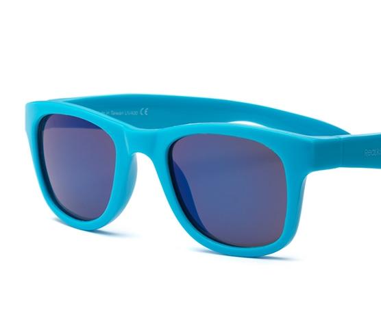 Okulary przeciwsłoneczne Surf Neon Blue 0-2 | Real Shades Kids