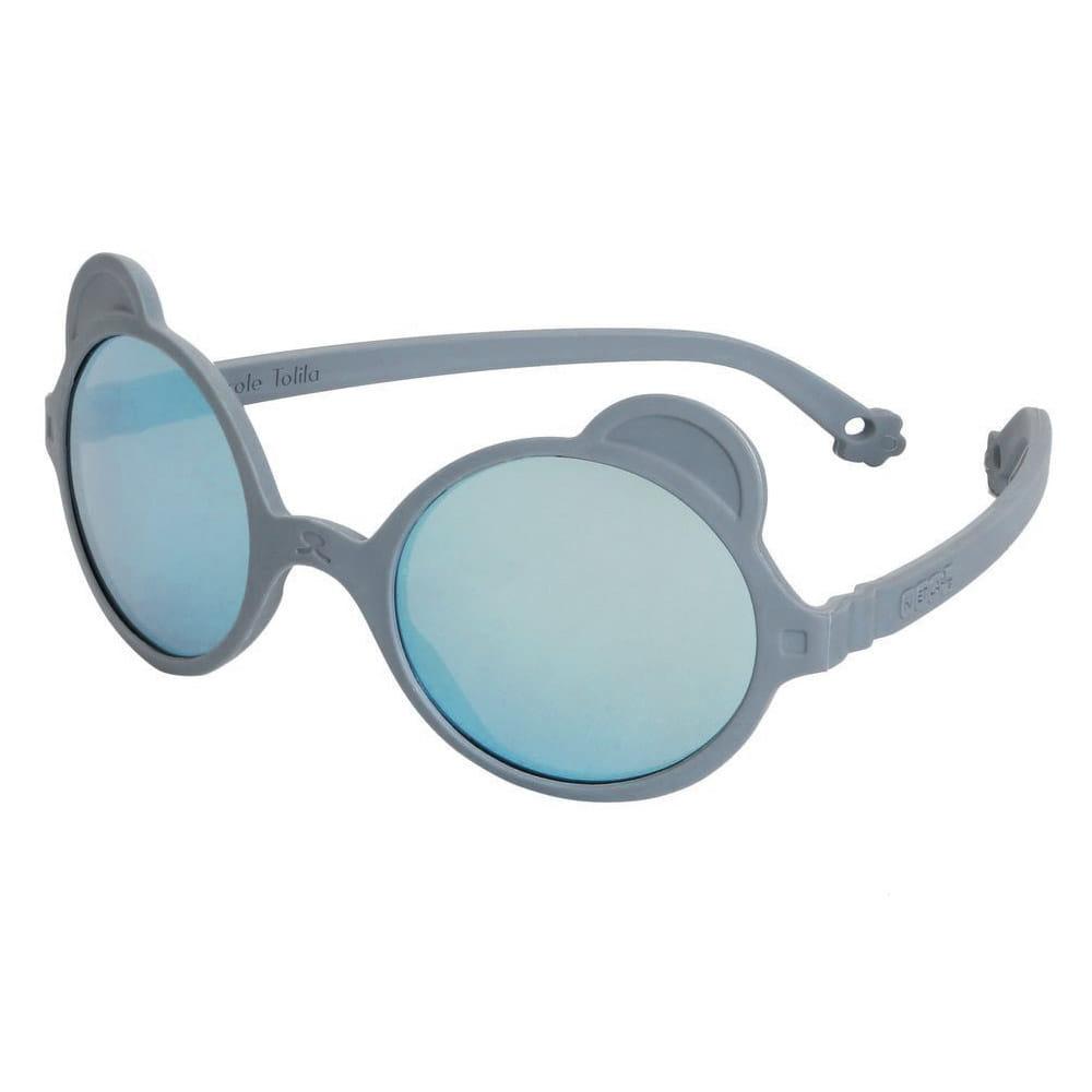 Okulary przeciwsłoneczne OURS'ON 2-4 lata Silver Blue   Kietla