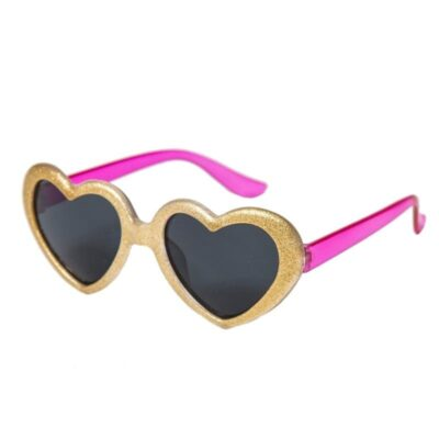 Okulary dziecięce 100% UV Glitter Heart   Rockahula Kids