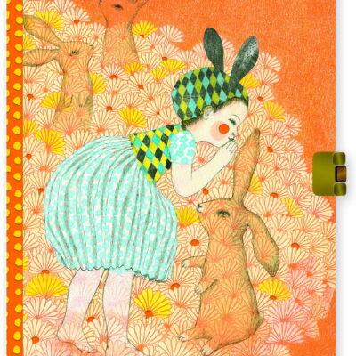 Sekretny pamiętnik na kłódkę ELODIE | Djeco