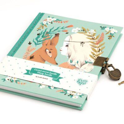 Sekretny pamiętnik na kłódkę Lucille | Djeco