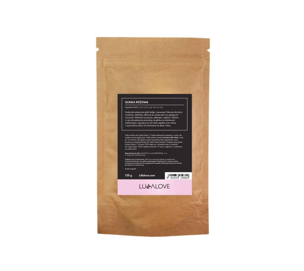 Glinka różowa - łagodne oczyszczenie i nawilżenie | Lullalove
