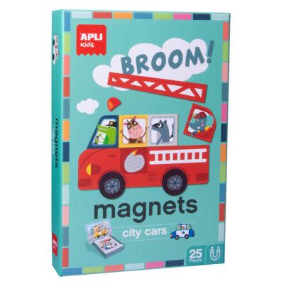 Magnetyczna układanka Pojazdy | Apli Kids