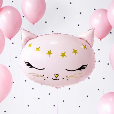 Balon foliowy Kotek, 48x36cm