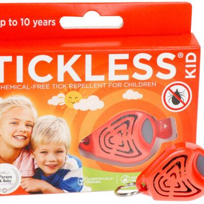Odstraszacz kleszczy dla dzieci Tickless Kid Pomarańczowy