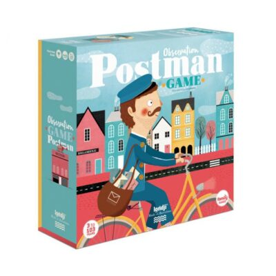 Gra obserwacyjna dla dzieci, Postman - Listonosz | Londji