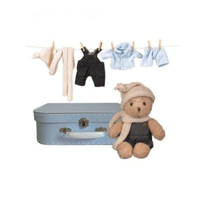 Miś Morris z ubraniami w walizce | Egmont Toys