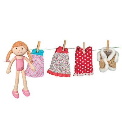 Walizka z ubraniami z lalką Oliwią | Egmont Toys