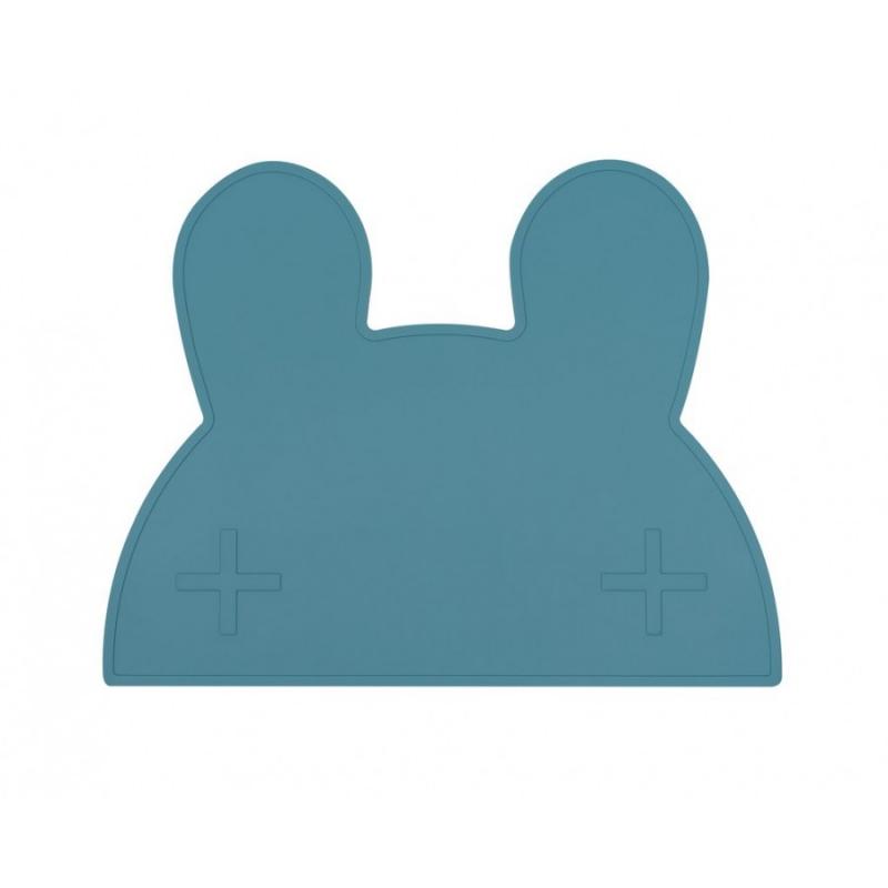 Silikonowa podkładka Króliczek Blue Dusk | We Might Be Tiny