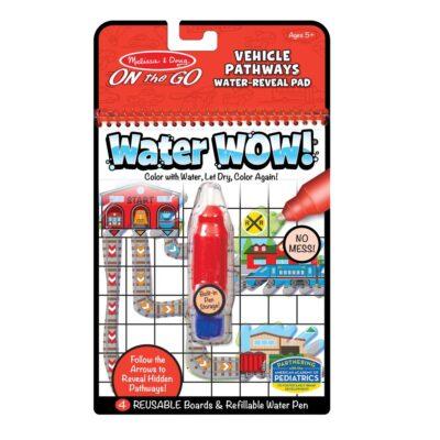Malowanka wodna Znajdź drogę - Pojazdy   Melissa&Doug