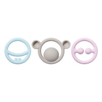 Gryzak Nigi, Nagi & Nogi - kolory pastelowe   Moluk
