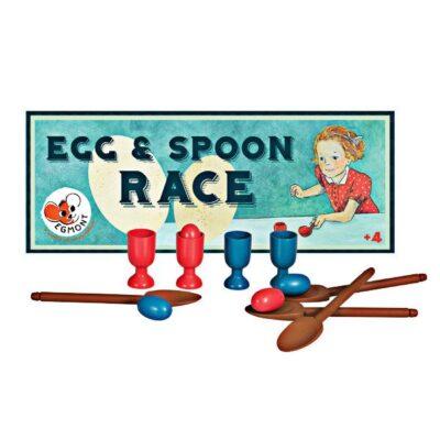 Gra wyścig z jajkami i łyżeczkami   Egmont Toys