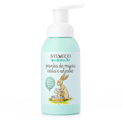 Pianka do mycia ciała i włosów   Sylveco