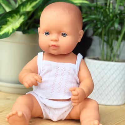 Lalka dziewczynka Europejka 32cm | Miniland