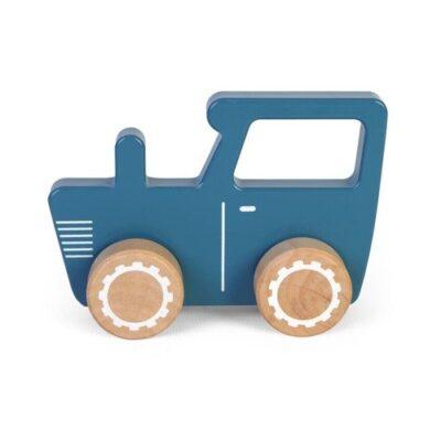 Drewniane autko traktor | Little Dutch