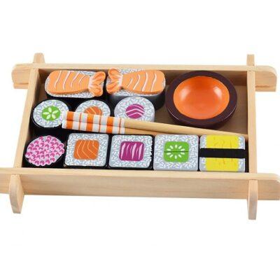 Drewniane sushi do zabawy w kuchnię | Magni